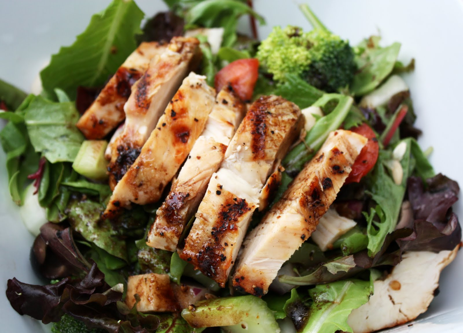 Leanders soul food grilled chicken salad forumfinder Images